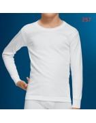 Camisetas de manga larga para caballero